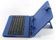 Чехол с клавиатурой Keyboard 7 blue micro