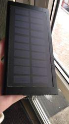 Солнечное зарядное устройство 10000mah. Аккумулятор на солнечной батар