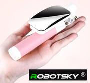 Монопод селфи-палка с зеркалом от RobotSky,  длина 75 см